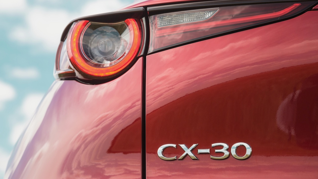 Mazda CX-30 review 2020 badge