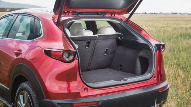 Mazda CX-30 review 2020 boot space