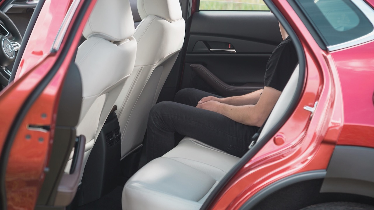 Mazda CX-30 review 2020 rear seat space