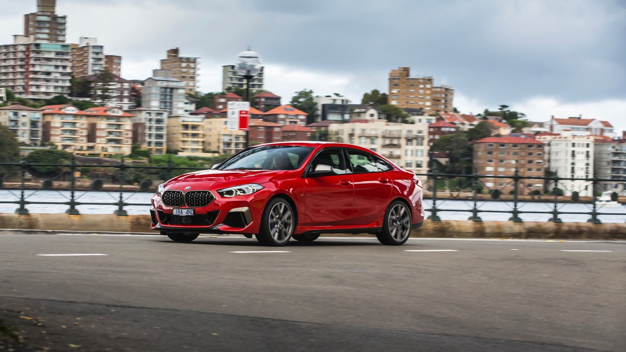 BMW M235i Gran Coupe 2020 red ride quality