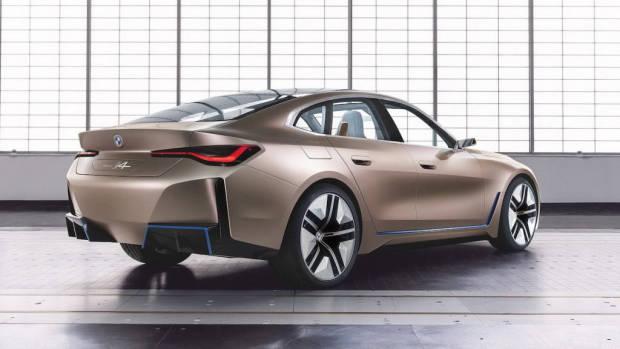 BMW i4 2021 EV concept rear