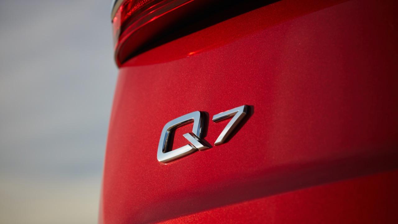 2020 Audi Q7 badge