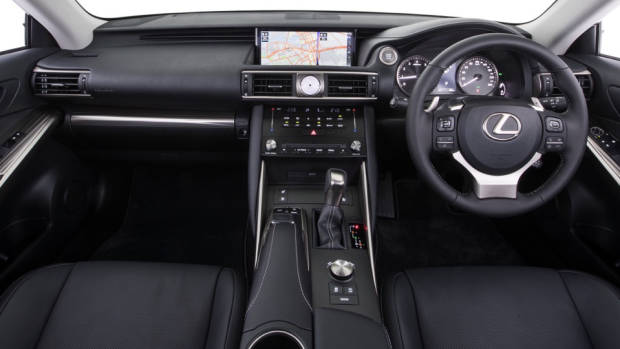 2020 Lexus IS 300 Luxury interior