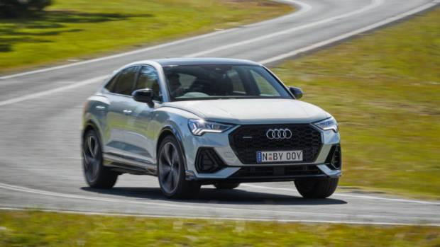 Audi Q3 Sportback review handling
