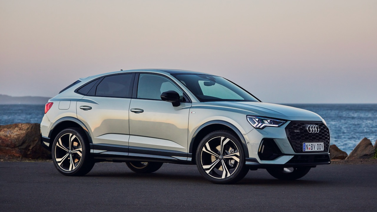 Audi Q3 Sportback review silver design