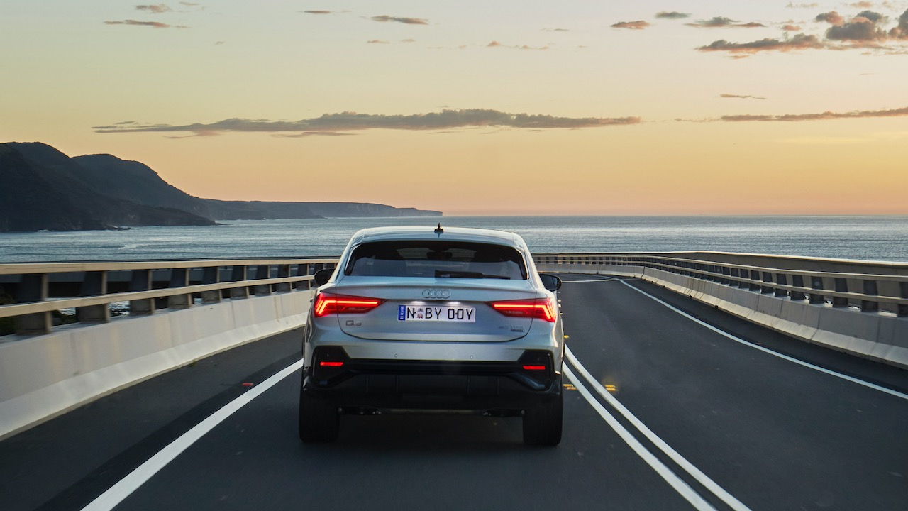 Audi Q3 Sportback review silver