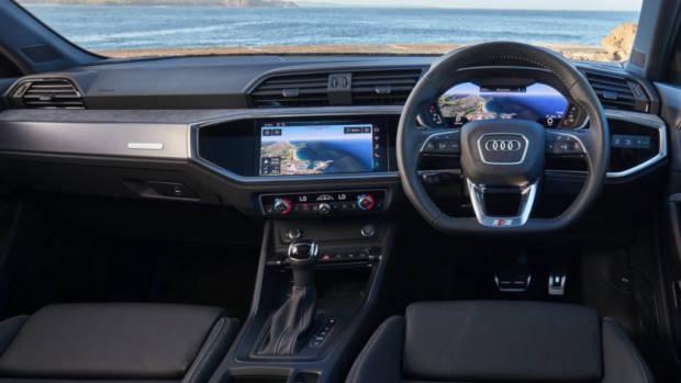 Audi Q3 Sportback review technology