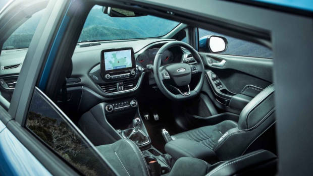 Ford Fiesta 2020 review interior