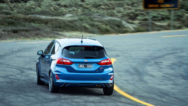 Ford Fiesta 2020 review rear end