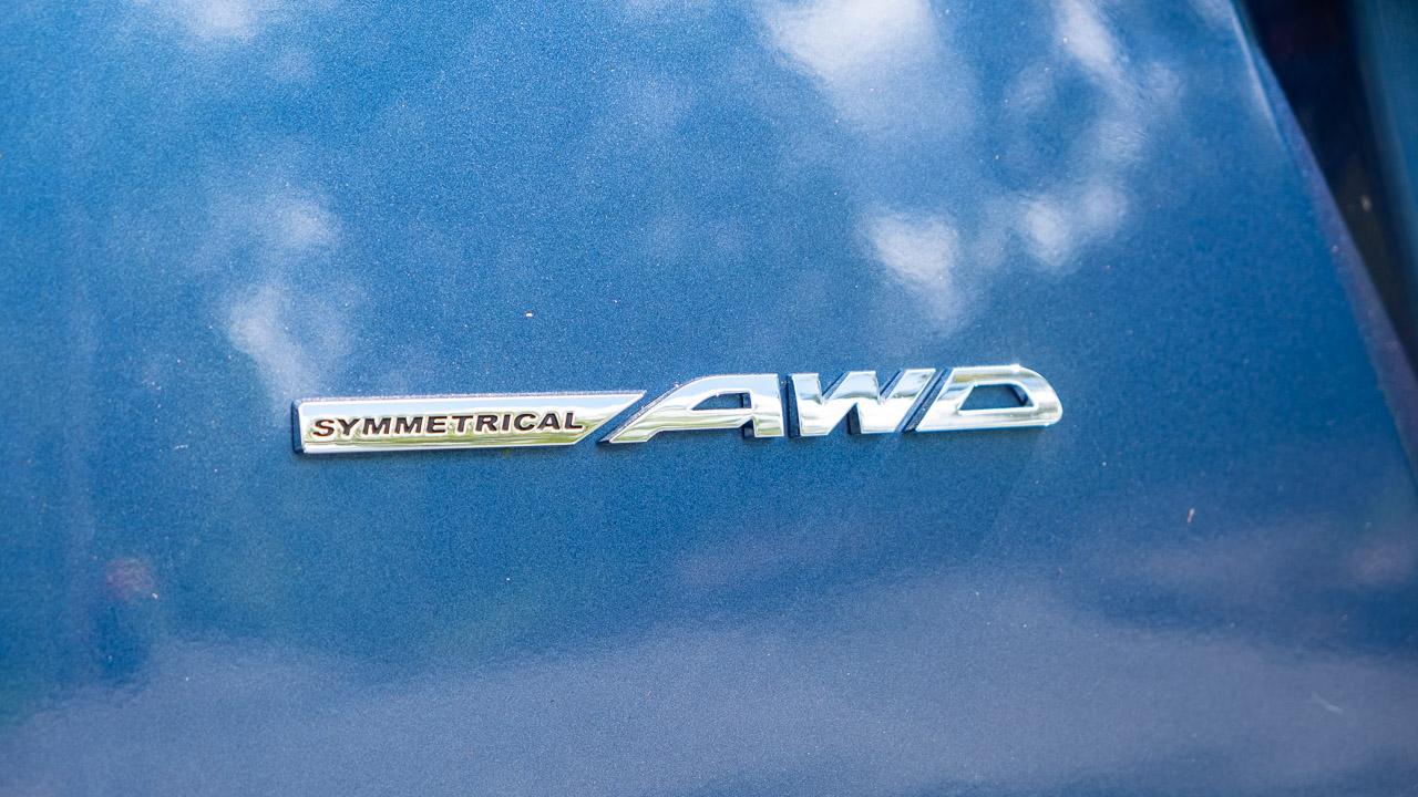 Subaru Impreza hatch 2020 AWD badge