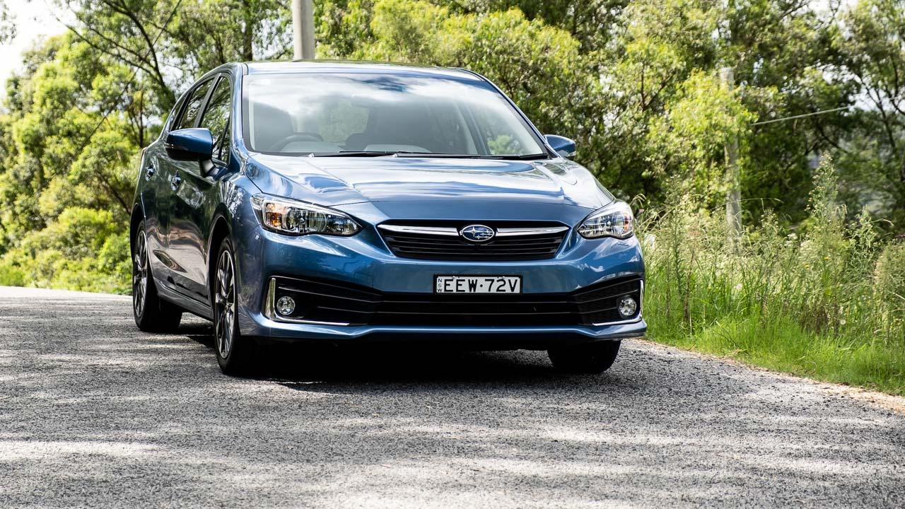 Subaru Impreza hatch 2020 blue