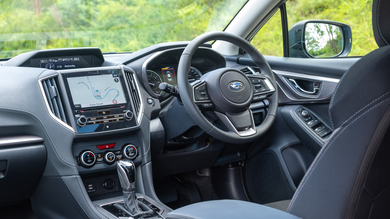 Subaru Impreza hatch 2020 cabin