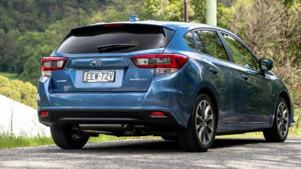Subaru Impreza hatch 2020 design