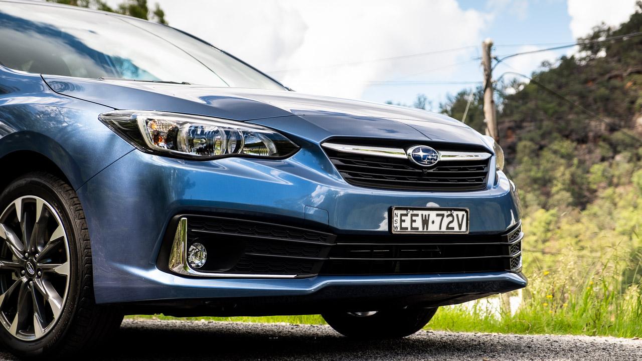 Subaru Impreza hatch 2020 grille