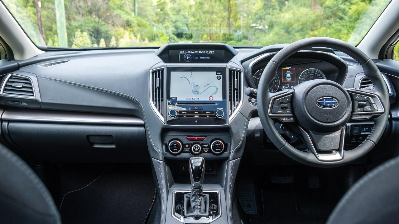Subaru Impreza hatch 2020 interior