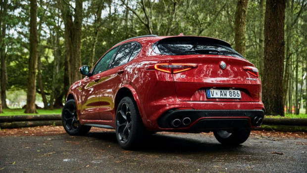 Alfa Romeo Stelvio Quadrifoglio review 2020 red