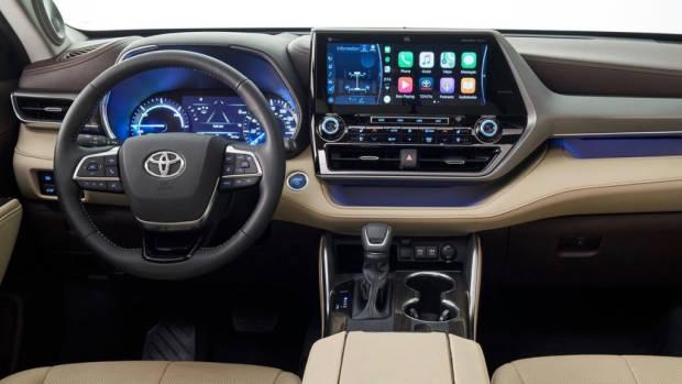 Toyota Kluger 2021 dashboard