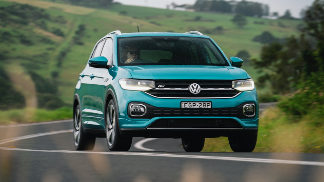 Volkswagen T-Cross R-Line Makena driving