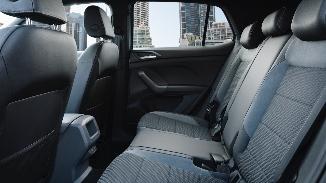 Volkswagen T-Cross back seat space