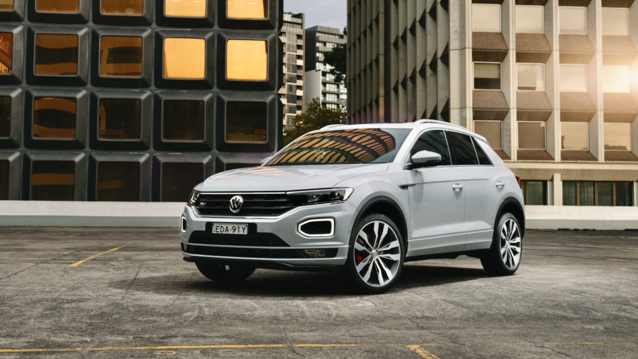 Volkswagen T-Roc review R-Line white
