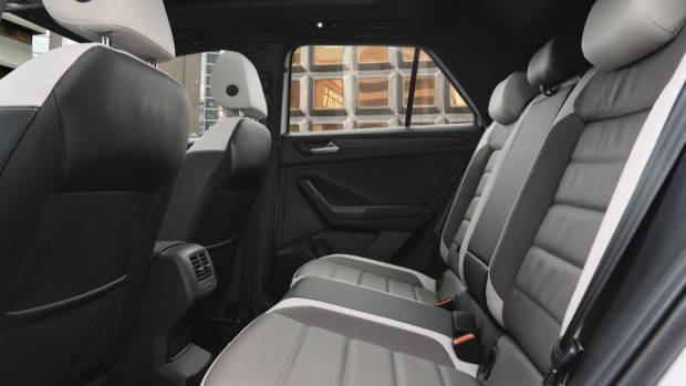 Volkswagen T-Roc review rear seat space