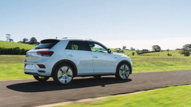 Volkswagen T-Roc review ride quality