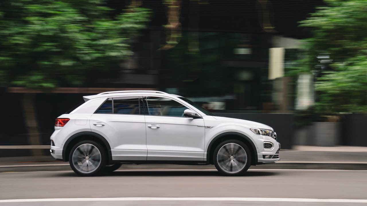 Volkswagen T-Roc review side profile