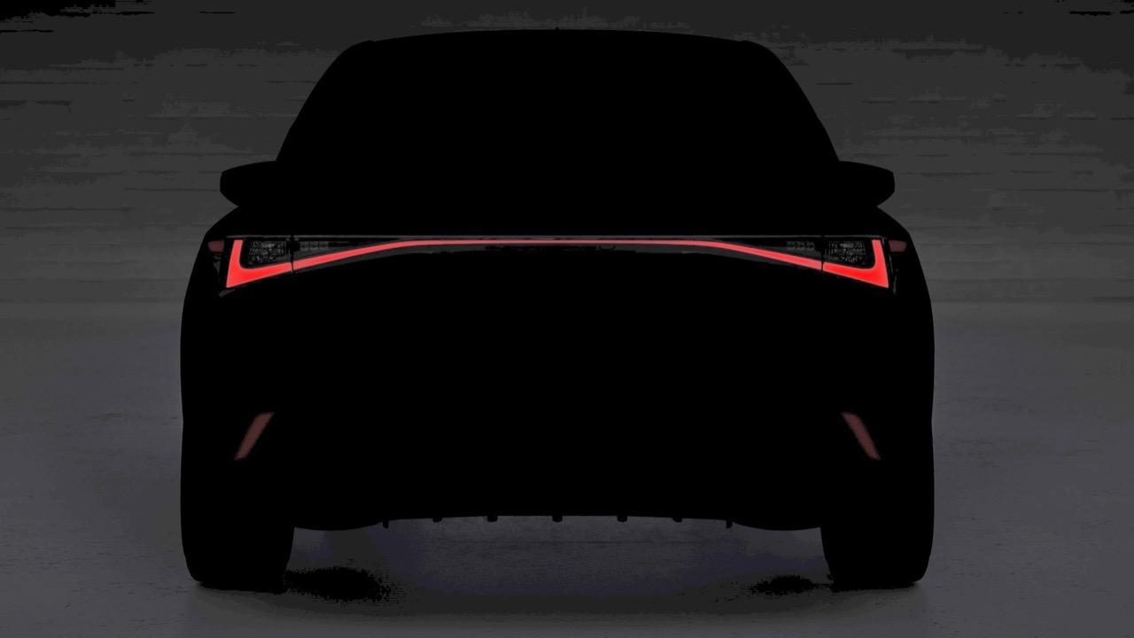 Lexus IS teaser pic 2020