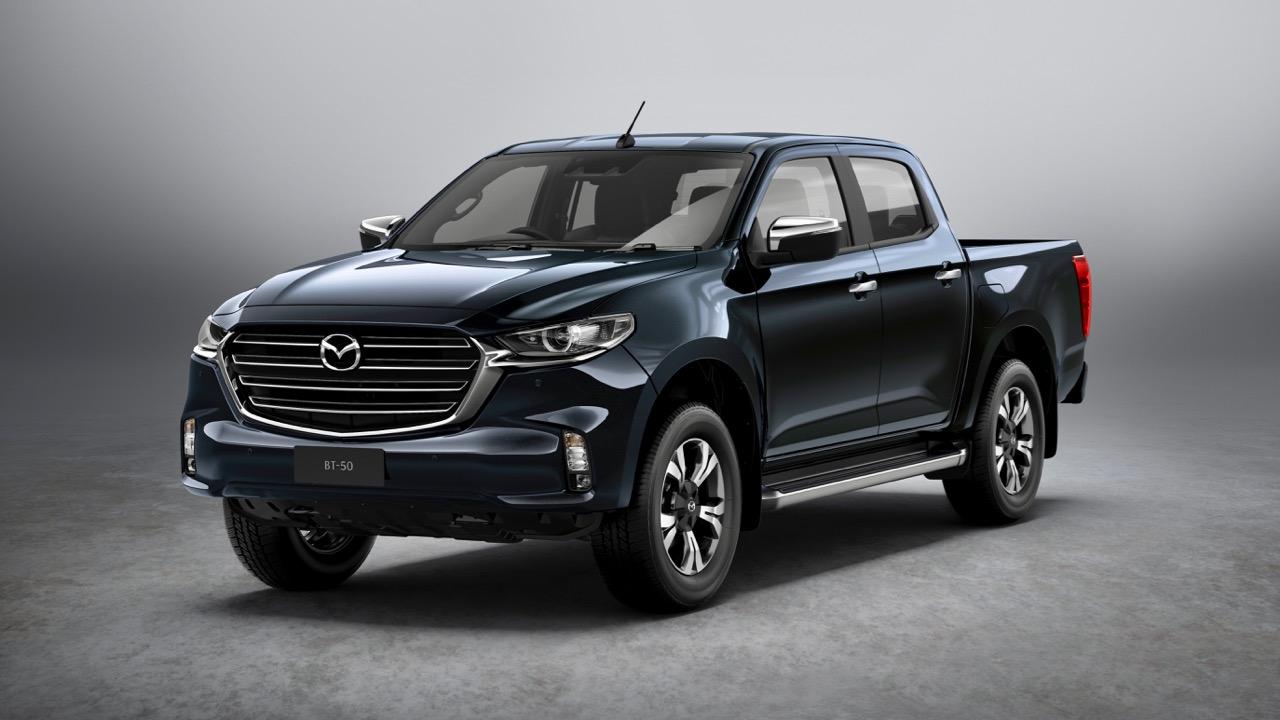 Mazda BT-50 2021 reveal front