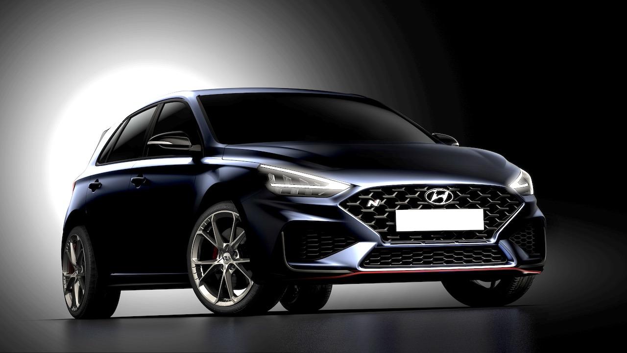 2021 hyundai i30 n hatch teaser images revealed | chasing cars