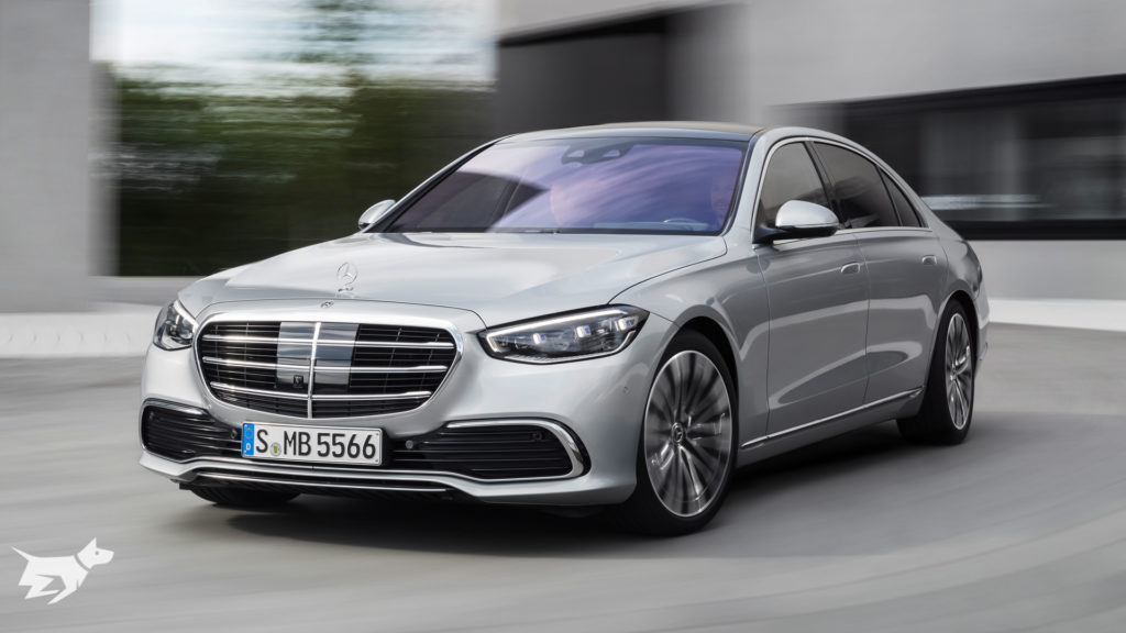 Mercedes-Benz S-Class W223 revealed in silver