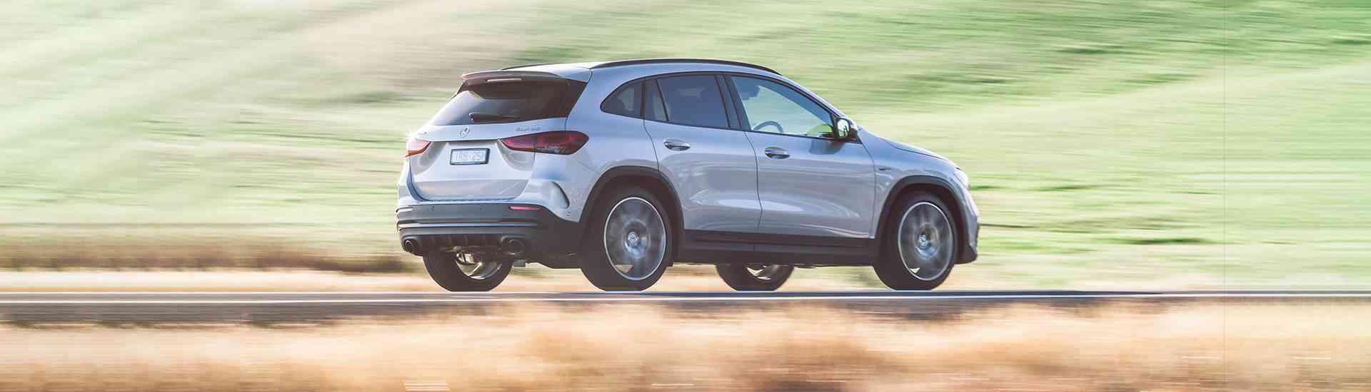 Mercedes-AMG GLA 35 2021 SUV review header