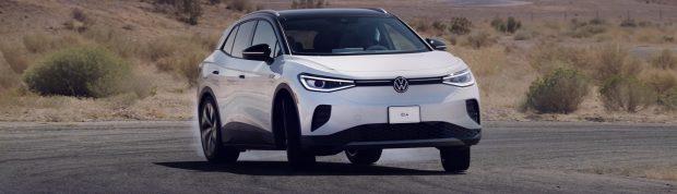 Volkswagen ID4 2021 drifting news header