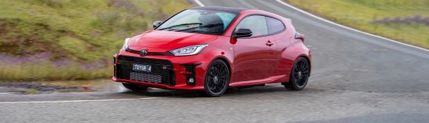 Toyota GR Yaris 2021 review header